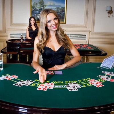 Spela blackjack i livecasino